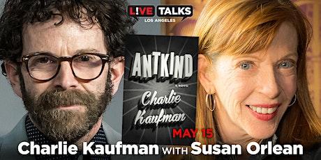 Charlie Kaufman in conversation with Susan Orlean tickets