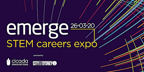 Emerge 2020 - STEM Tech & Careers Expo  tickets