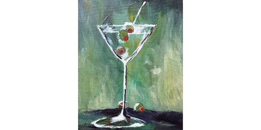 "3/9 - Corks and Canvas Event @ Suite Restaurant/Lounge, Bellevue ""Shaken, Not Stirred"""