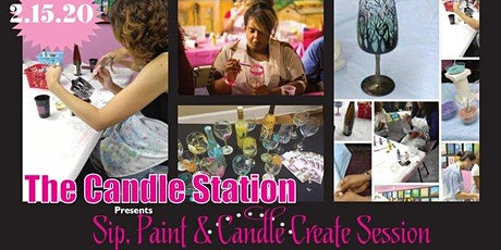 Sip, Paint & Candle Create Sessions 2-15-2020 tickets