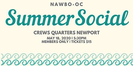 NAWBO-OC Member Social tickets