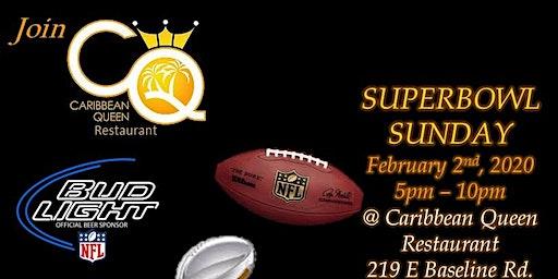 Super Bowl Sunday @ CQ Lounge !!