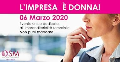 L'Impresa è DONNA 2020 - Puglia Molise Abruzzo Sud