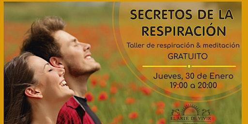 Secretos de la respiración - Taller de respiración