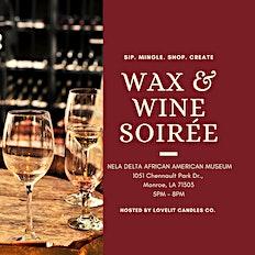 Wax & Wine Soirée
