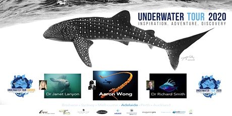The 2021 Underwater Tour - Aaron Wong - Richard Smith - Janet Lanyon - LIVE tickets