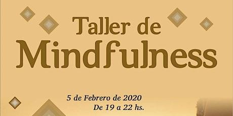 TALLER DE MINDFULLNESS entradas