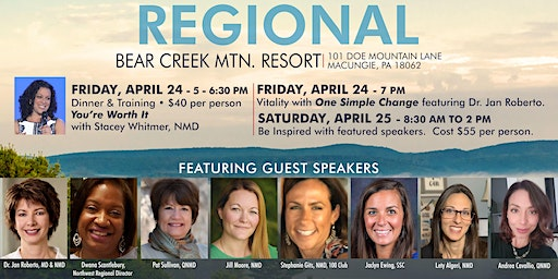 Be Inspired at the 7th Annual Bear Creek Mountain Resort Regional