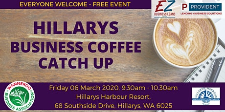 Free Business Networking - Hillarys tickets