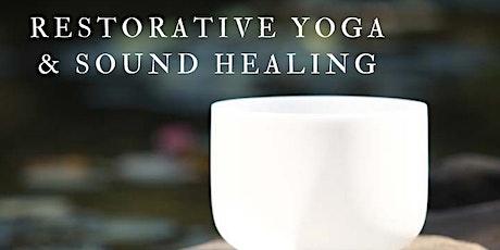 An Evening of Restorative Yoga & Sound Healing tickets