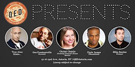 QED Presents:  Christi Chiello, Gus Constantellis, Chris James & More! tickets