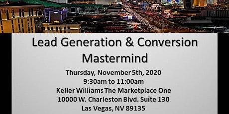 Lead Generation/Conversion Mastermind tickets
