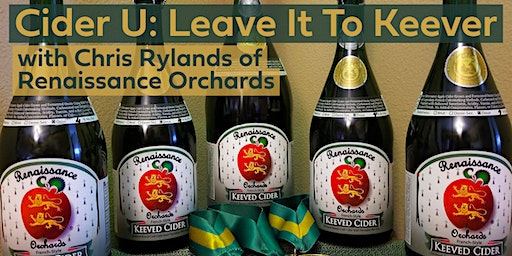 Cider U: Leave It To Keever with Chris Rylands