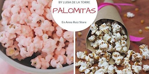 Palomitas de sabores con la Chef Luisa de la Torre en Anna Ruíz Store