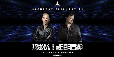Avalon Presents MARK SIXMA B2B JORDAN SUCKLEY tickets