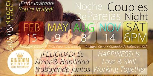 Noche de Parejas | Couples Night - FEB15