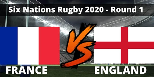 France VS England 6 Nations Rugby