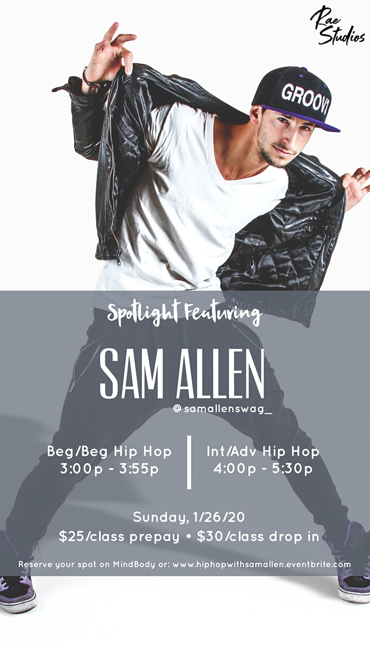 Hip Hop with Sam Allen image