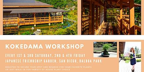 Kokedama DIY Workshop at Japanese Friendship Garden! tickets