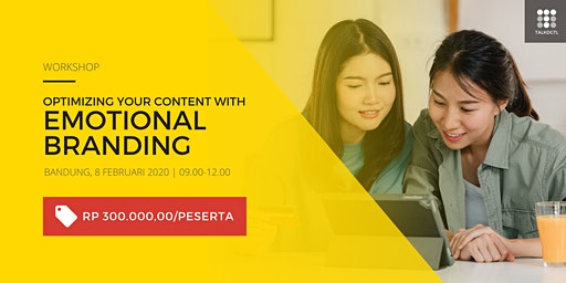 (Paid Event) Workshop Optimizing Your Content with Emotional Branding