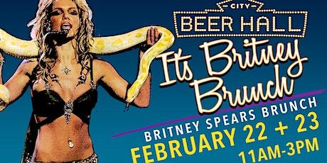 Britney Spears Brunch tickets