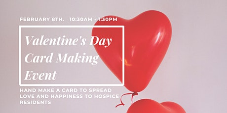 Hand Make a Valentine's Day Card for Hospice Residents tickets