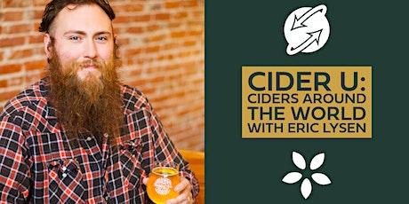 Cider U: Ciders Around The World with Eric Lysen tickets