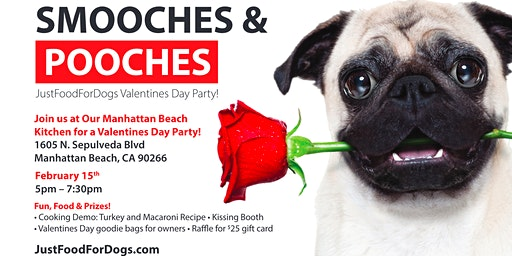 Smooches & Pooches : Just Food For Dogs Valentines Day Party!