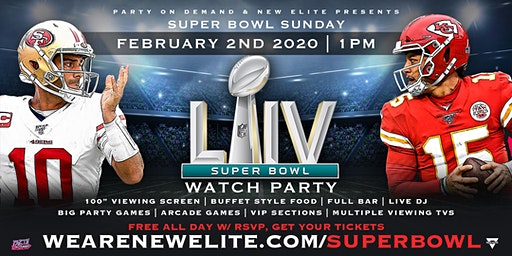 Super Bowl 54 Watch Party