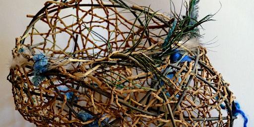 Random Weave Basket/Sculpture Morning Workshop - Therese Flynn-Clarke