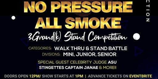 No Pressure All Smoke Dance Competition