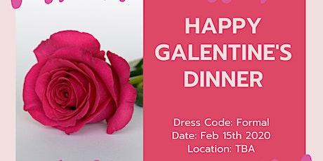 Happy Galantine's Dinner tickets