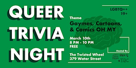 Queer Trivia Night March tickets