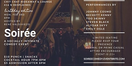 Soiree: A Socially Intimate Comedy Event BDAY EDITION! tickets