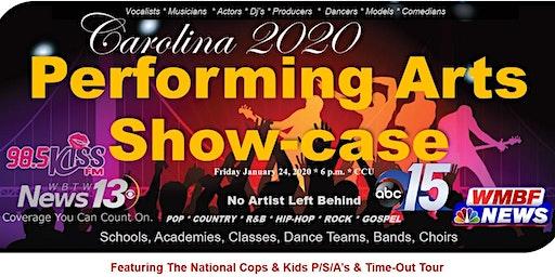 Carolina Performing Arts Showcase - Auditions