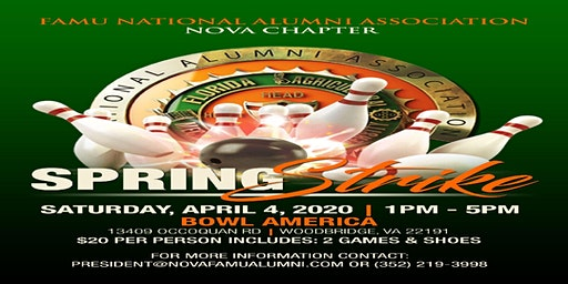 Spring Strike 2020 hosted by NOVA FAMU NAA