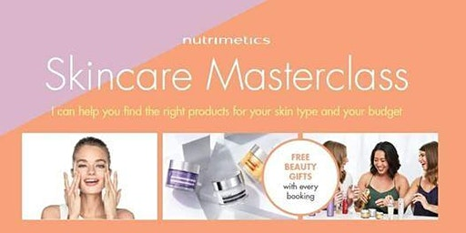 SKINCARE MASTERCLASS Workshop - Free Beauty Gift Bag