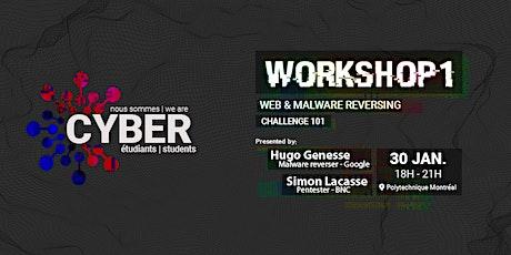 Workshop 1: Web & malware reversing billets