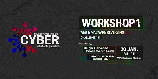 Workshop 1: Web & malware reversing