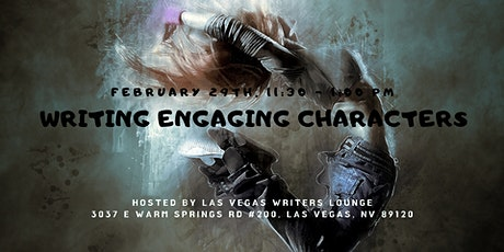 Writing Engaging Characters tickets