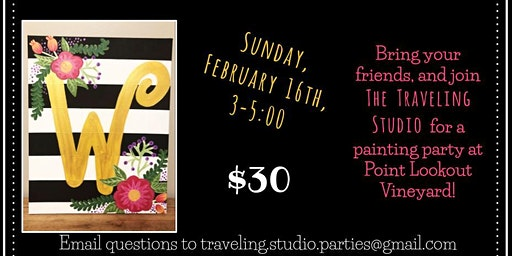 February Paint Party at PLV