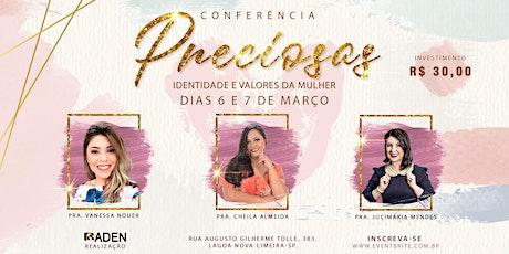 Preciosas - Conferência de Mulheres ingressos
