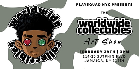 WorldWide Collectibles Art Show tickets