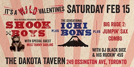 Wild Valentines! w/ Shook Boys & Ichi Bons tickets