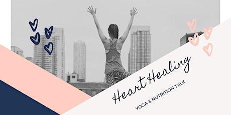 Heart Healing Yoga & Nutrition Talk tickets