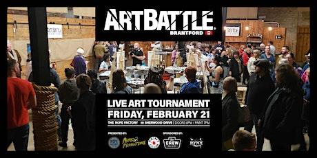 Art Battle Brantford - February 21, 2020 tickets