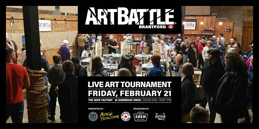 Art Battle Brantford - February 21, 2020