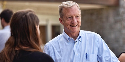 Town Hall with Tom Steyer in Ames