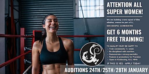 Auditions For Super Women Elite Training Squad