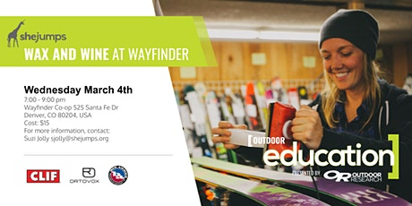 CO SheJumps Wax and Wine at Wayfinder tickets